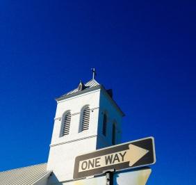 one way cross